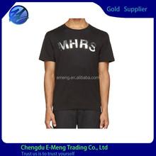 100% Ringspun Cotton Single Jersey Men Printing T-shirt Adult Printed T shirts