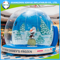 2015 indoor and outdoor inflatable dance snow globe