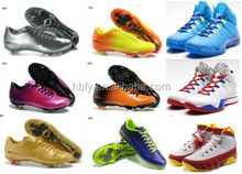 Football shoes 2015 hot selling wholesale brand newest football shoes for men, Accpet TT brand name soccer shoes