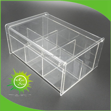 Acrylic box for tea bag holder import china goods
