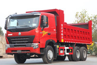 HOWO Dump truck Sinotruck 6*4 A7 dump truck Euro2, 371HP High loading capacity, low fuel consumptiontruck