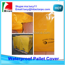 waterproof uv-protection pallet cover/pallet cover bag