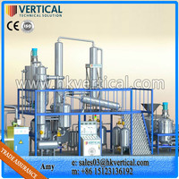 VTS-DP used motor oil recycling plant, used mobile oil recycling machine, motor oil to base oil plant