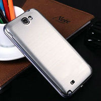 Protective metal cover for galaxy note 2,colorful hard back bumper for galaxy note2