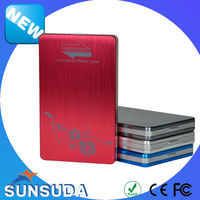 2014 new design Tool free aluminium 2.5 inch USB 3.0 to SATA external HDD Case