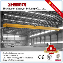 5T Steel Coil Use Double Beam Overhead Crane With C Type Hook