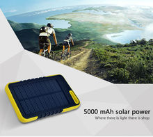 Solar laptop charge 5000mah 10000mah Power Bank output 5v 1a power bank fcc Emergency Help