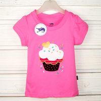 Popular China kids clothes girls t-shirt