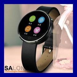 Elegant IPS Round Screen Heart Rate Monitoring Bluetooth Smart Watch