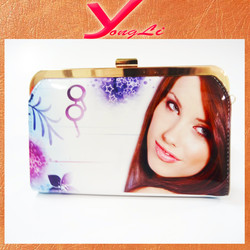 Beautiful girl PU leather wallet and handbag for girls/ladies/women