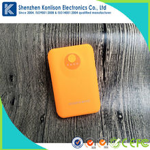 5600mah mobile phone charger colorful power bank with Li-ion battery and ABS case