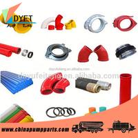 Concrete pump spare parts for Schwing, PM, CIFA etc.