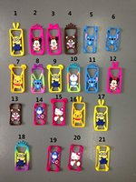 new mobile cover silicon phone case for iphone 5s 3d design phone case Despicable Me Minions silicon phone