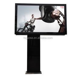 city advertising equipment--outdoor led digital display solar scrolling system billboard