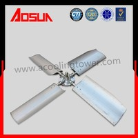 3700mm Aluminum Alloy 4 blades high speed Adjustable fan for cooling tower