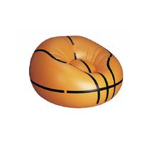 Pvc inflatable basketball sofa chair