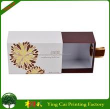 Handmade Sliding Drawer Soap Cardboard Packaging Box XF038