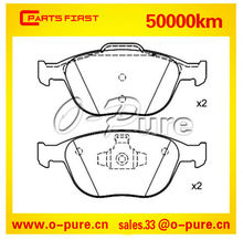 Brake pads for FORD TRANSIT CONNECT and FORD FOCUS Estate O-pure semi-metal brake pad 1 355 950 None asbestos good quality