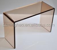 glass table top led acrylic bar tables