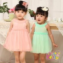 FANCY DRESS TODDLER GIRLS DRESSES,TULLE BABY PARTY DRESSES 1-5
