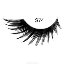 Top Quality Machine Made Mellow Wispy False Eyelash / Synthetic Eyelashes / Silk Lashes