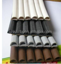 wholesales anti-aging self adhesive wooden door gasket/epdm glazing gasket