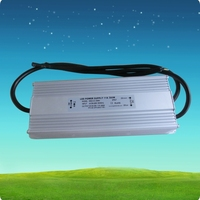 CE RoHS Approved IP65 IP66 IP67 40-52V 6A 300W Constant Current LED Bulb Driver