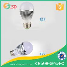 led light bulb e27 Aluminum PC Milk cover 2700k WW dimmable led bulbs 9w e27