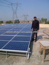 2013 nueva desig 6 kW, 8kw, 10kw sistema de energía solar, sistema generador de energía solar para el hogar