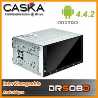 2015 CASKA new Android Pro Professional Android Solution android 4.4.2 universal car dvd player out let