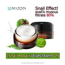 MIZON Snail Repair Eye Cream Korean Moisturizing Remove Under Eye Dark Circle Eye Cream Skin Care Product 25ml