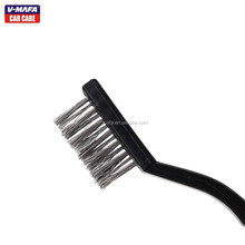 hard stainless car wash brush for car metallic area cleaning V-2833 ,OEM available