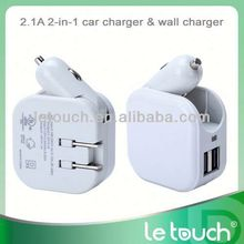 Hotest universal portable mobile home/car charger and usb data charger cable