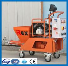 HOT SALE 4000W N2 Mortar Plastering Machine, Rendering Machine, Cement Mortar Spraying Machine