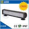 CREE 72LED 20.5inch 216W Waterproof LED Work Light bar offroad Driving Lamp 12V 24V for Jeep SUV ATV Off-road Truck Cars