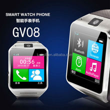 G-Sensor Multi-touch sleep tracker Pedometer Car bluetooth communiction smart watch phone with microphone USB Port soft silicone