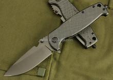 OEM 5Cr13 Folding Knife with Anodized Aluminum Handle custom knife UDTEK00475