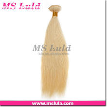 high quality sales customization honey blonde brazilian hair weave