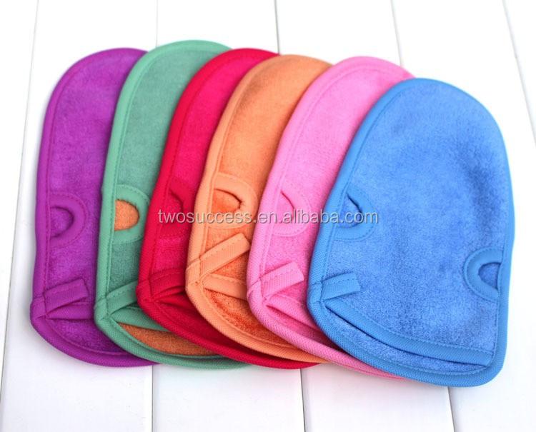 natural magic wash fiber hemp bath towel gloves