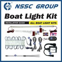 Boat LED Interior Lighting Kit Strip white blue marine Lights