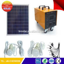 Stand Along Cheap Price solar panel kits for home With Phone Charge