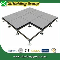 advanced technology Woodcore raised floor system for clean room