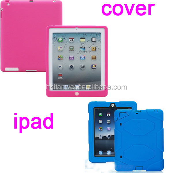 ipad accessories, 2014 new silicone covers for apple ipad