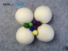 new design beautiful dyed 100% wool felt ball