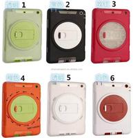 China wholesale hybrid TPU hard 2 in 1 for ipad air mini 2 3 4 5 6 for iPad mini 4 armor case