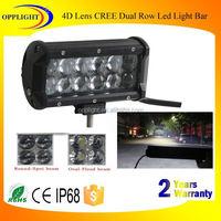 240w led light bar 12v dual row 4d lens light bar offroad led light bar adjustable middle mount