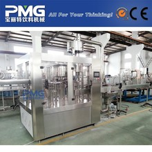 CGF8-8-3 Round PET bottle Mineral water filling and bottling machine