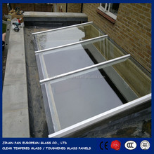 Tempered glass roof and doors, safe quality glass