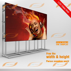 New product 49 inch LG IPS LED panel 3.5mm ultra narrow bezel 3x3 LCD Video Wall
