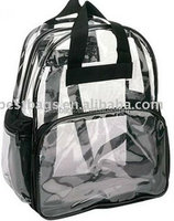clear pvc backpack for kids
